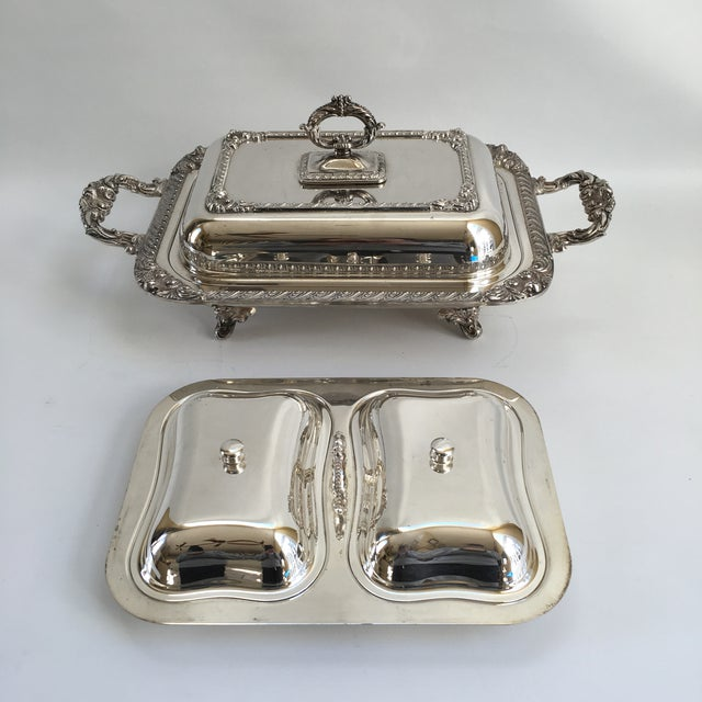Antique English George III Style Server - Image 7 of 11