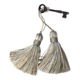 Petite Natural Color Tassels - a Pair For Sale
