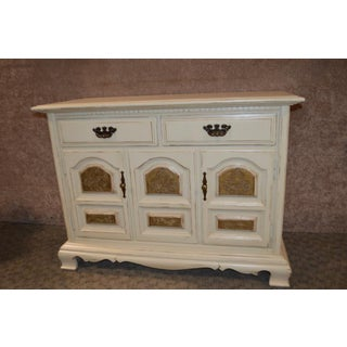Vintage Cottage Style Accent Cabinet Preview
