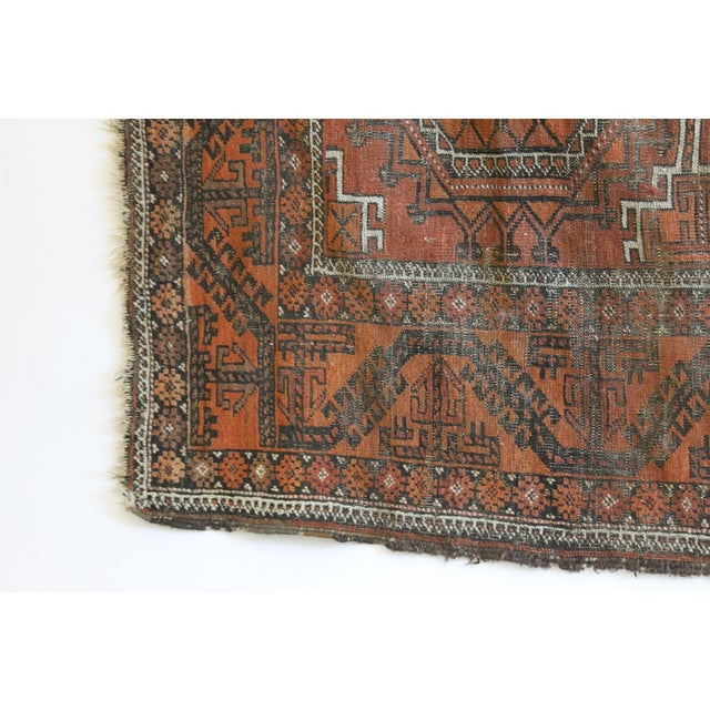 "Hand Knotted Turkish Rug - 3'7"" x 6'2"" - Image 3 of 3"