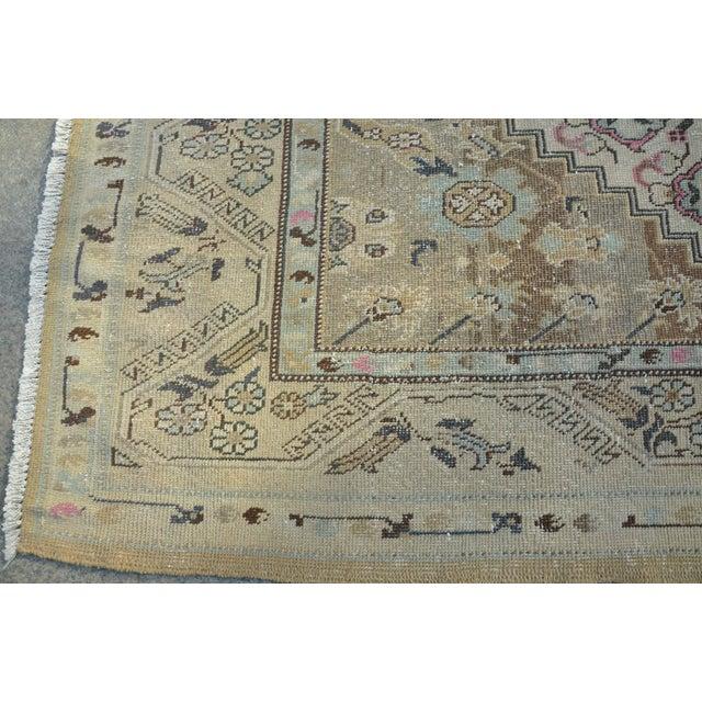 Handmade Aantolian Area Rug - 5′3″ × 9′3″ For Sale In Austin - Image 6 of 6