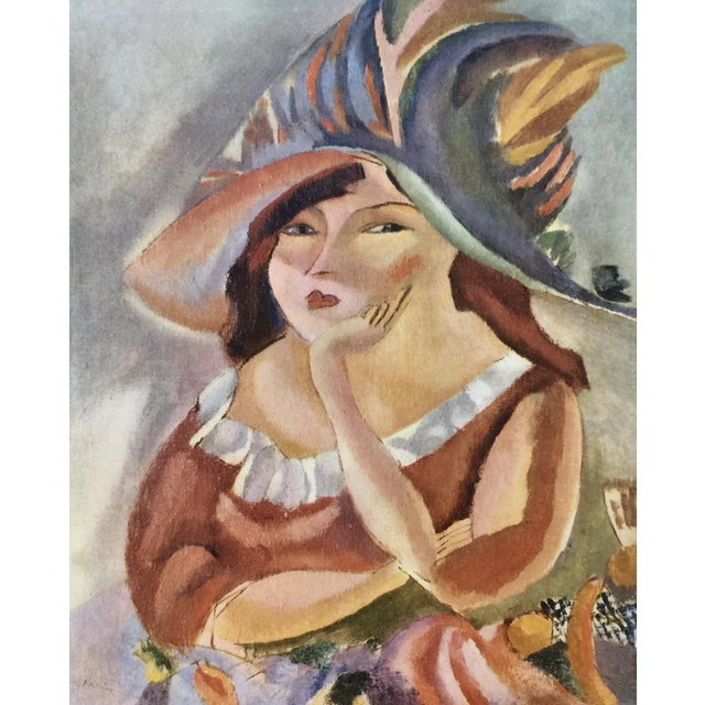 Lithograph 1954 Portfolio of 25 Color Stone Lithograph Prints by Jules Pascin For Sale - Image 7 of 13
