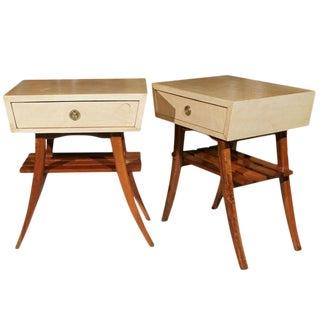 Art Deco Parchment Stands - A Pair For Sale