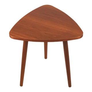 1960s Vintage Danish Teak Side Table For Sale