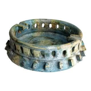 "Alvino Bagni for Raymor ""Sea Garden"" Ceramic Pottery Ashtray For Sale"