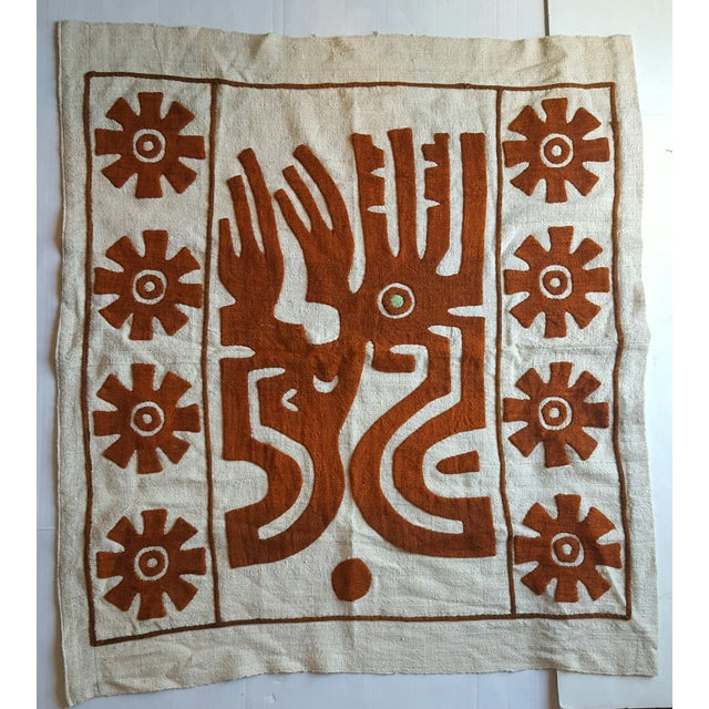 Tribal Textile Wall Hanging - Image 2 of 3