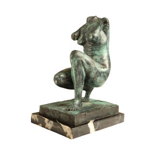 Bronze Nude Statue of Aphrodite (Venus) (B) For Sale