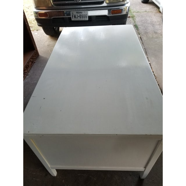 Mid Century Modern Style Executive Desk For Sale - Image 12 of 13