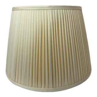 Heath and Company Banana Gathered Pleated Lamp Shade For Sale