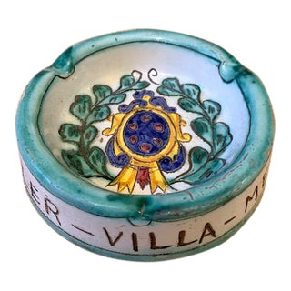 Deruta Ashtray From Hotel Hassler/Rome, 1960s For Sale