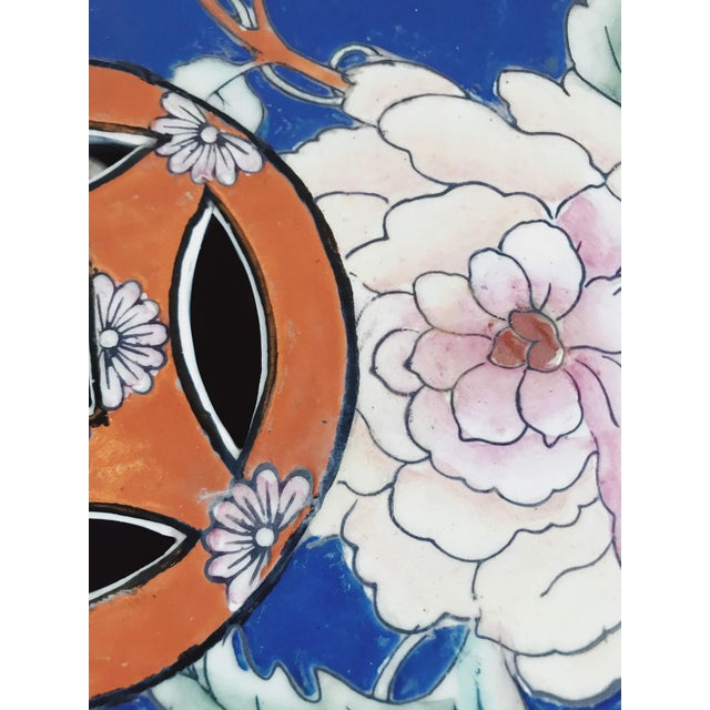 Stunning Chinoiserie garden stool. the colors of this stool are rare. this piece is hand painted and in amazing condition...