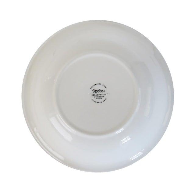 Spode Spode Celebration Brown Turkey Thanksgiving Dinner Salad Soup Bowl Set of 2 For Sale - Image 4 of 6