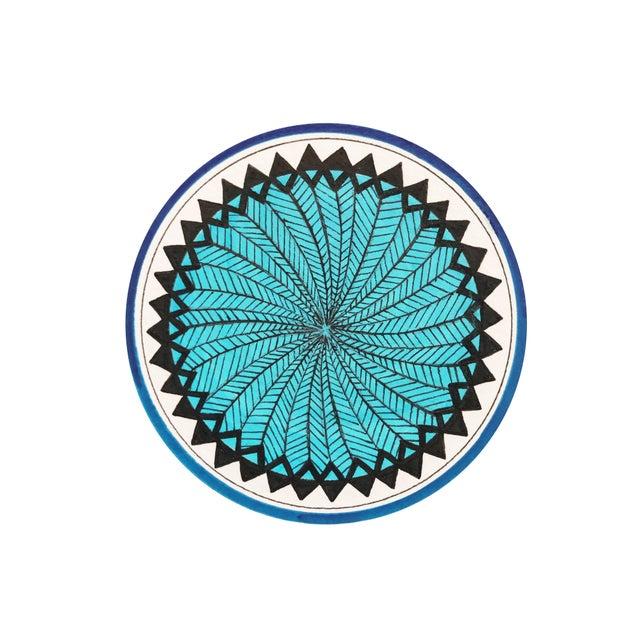 Natasha Mistry Minimalist Geometric Ink Drawings - Set of 9 For Sale - Image 4 of 9