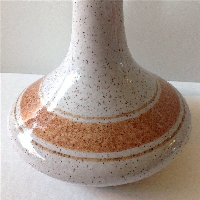 Vintage Pottery Decanter Bottle - Image 4 of 7