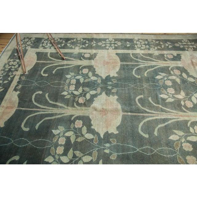 """Vintage Indo Donegal Carpet - 8'8"""" x 11'9"""" - Image 6 of 9"""