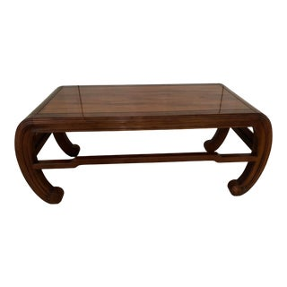Henredon Ming Style Coffee Table For Sale