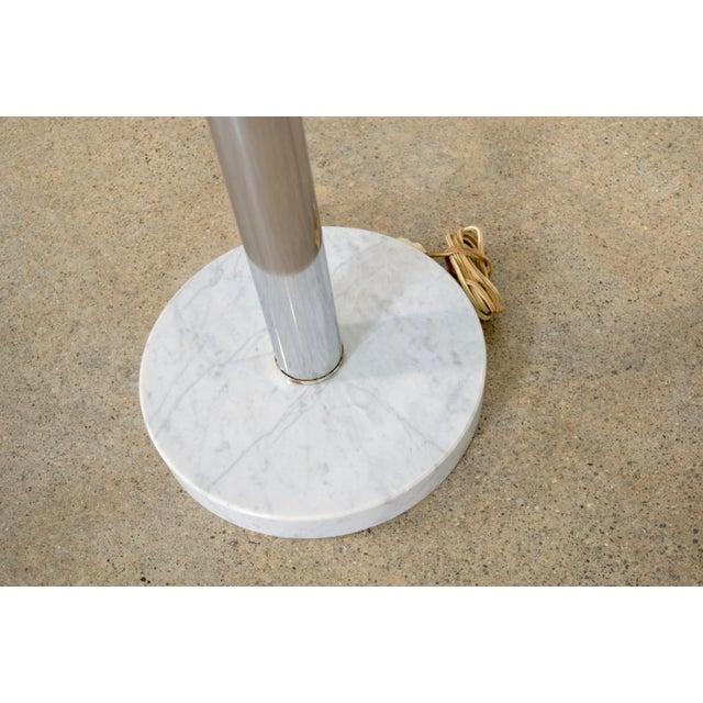 Mid Century Orb Lamp: Mid Century Sonneman Style 3 Light Chrome Arc Floor Lamp