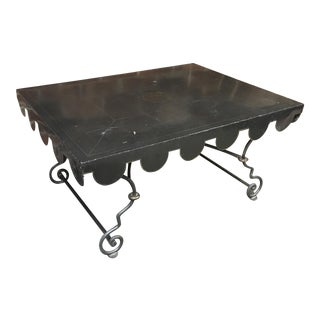 Black Tole Coffee Table For Sale