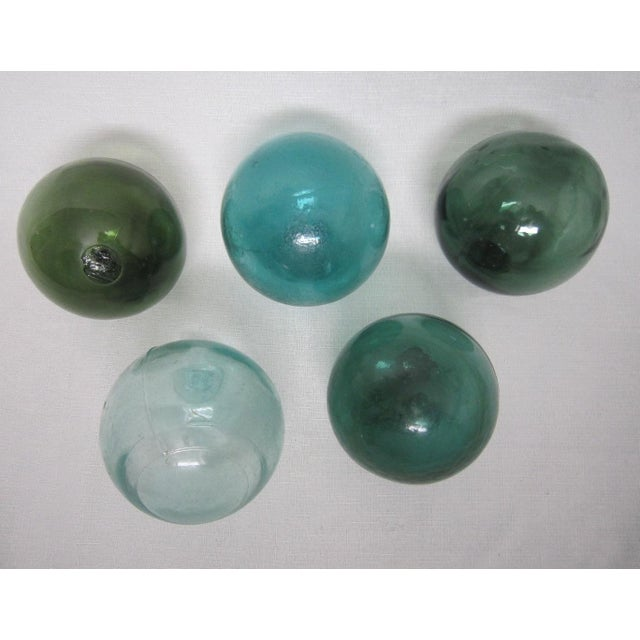 Oversize Glass Floats - Set of 5 - Image 3 of 4