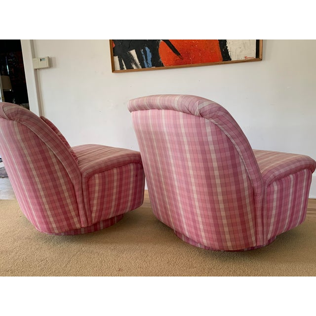 Directional Directional Furniture Clamshell Chair - A Pair For Sale - Image 4 of 9