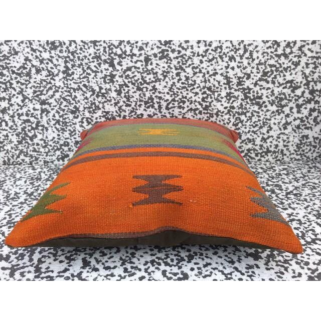 Turkish Kilim Pillow Cover - Image 3 of 5