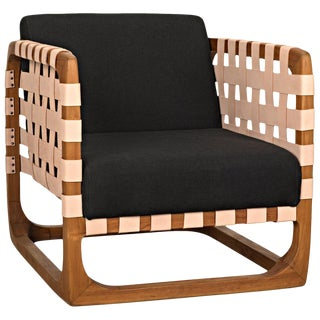 Teak Nebula Chair, Natural For Sale