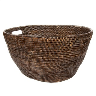 Artifacts Rattan Laundry Basket For Sale
