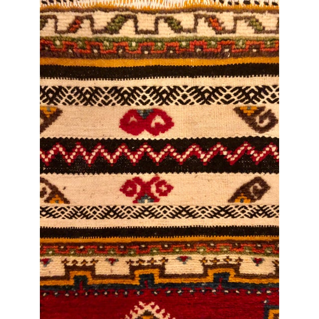 "Textile Moroccan Berber Rug-2'1'x3'4"" For Sale - Image 7 of 10"