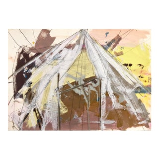 "Diana Delgado ""Tent Study Ii"" Painting For Sale"