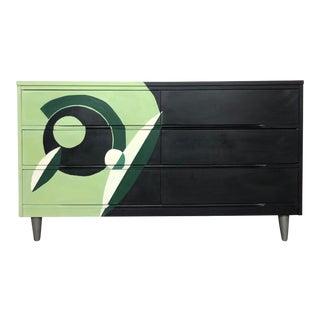 Mid-Century Modern Six Drawer Dresser