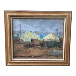 William Davis Oil on Canvas Framed For Sale
