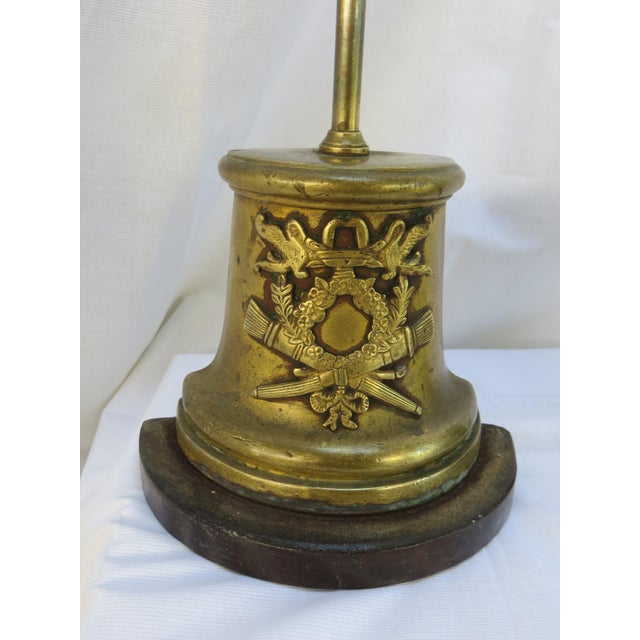 1800's Antique French Brass Door Stops - A Pair - Image 4 of 9 - 1800's Antique French Brass Door Stops - A Pair Chairish