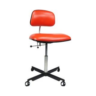 Orange Herman Miller Kevi Desk Chair For Sale