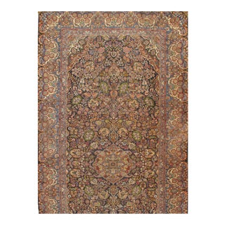 """Pasargad Ny Antique Persian Qazvin Wool Rug - 10′1″ × 21′6"""" For Sale"""
