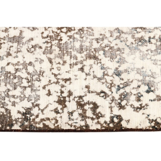 """Vintage Overdyed Rug, 8'0"""" X 11'1"""" For Sale In New York - Image 6 of 9"""