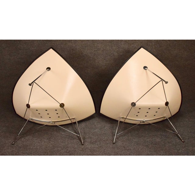 "Vintage George Nelson for Vitra ""Coconut"" Chairs - a Pair For Sale - Image 10 of 13"