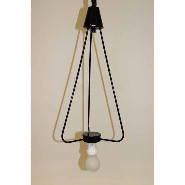 Mid-Century Modern Murano Glass Pendant Lamp For Sale - Image 12 of 13