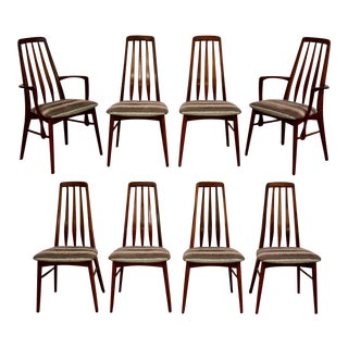 Dining Chairs by Niels Koefoed for Hornslet - Set of 8 For Sale