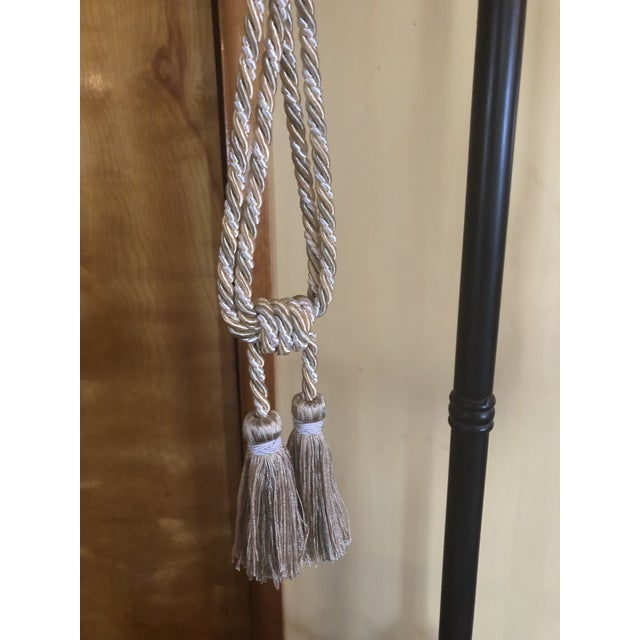 Neoclassical Samuel & Sons Silk Drapery Tie Back Tassels - A Pair For Sale - Image 3 of 5