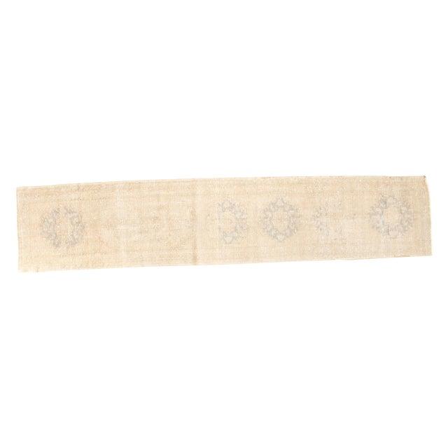 "Vintage Oushak Runner Rug - 2'2"" x 10'3"" - Image 1 of 7"