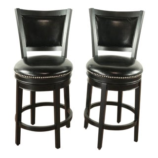 Ahb Swivel Shae Bar Stools - a Pair