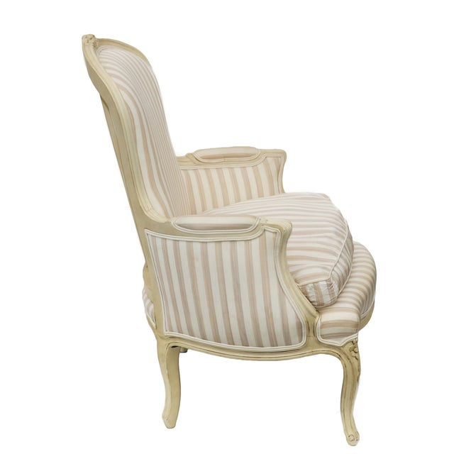 John Widdicomb French Style Upholstered Chair - Image 3 of 9