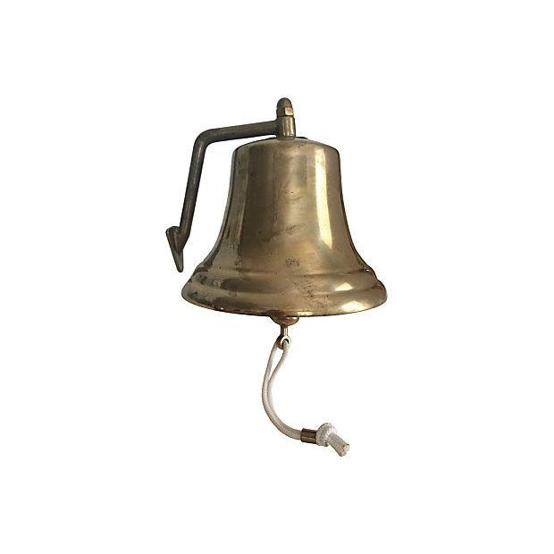 "8"" Italian Brass Ship's Bell - Image 1 of 4"