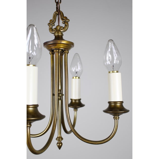 Colonial Revival Candelabra Style Fixture - Image 8 of 8