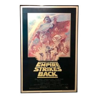 Vintage Star Wars Movie Poster Framed Wall Art For Sale