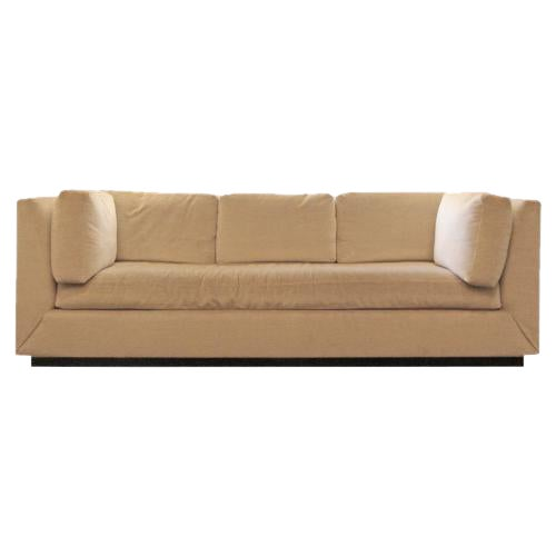 Custom Donghia Mohair Sofa For Sale