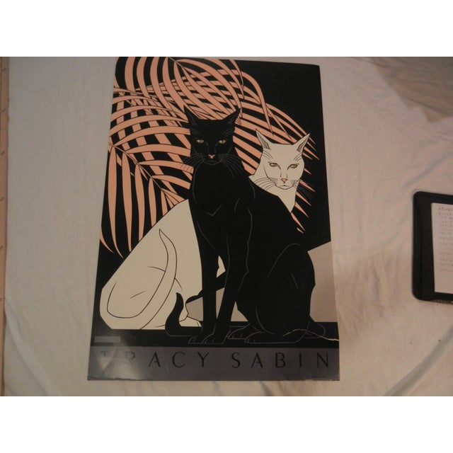 Vintage Cats Lithograph by Tracy Sabin - Image 2 of 4