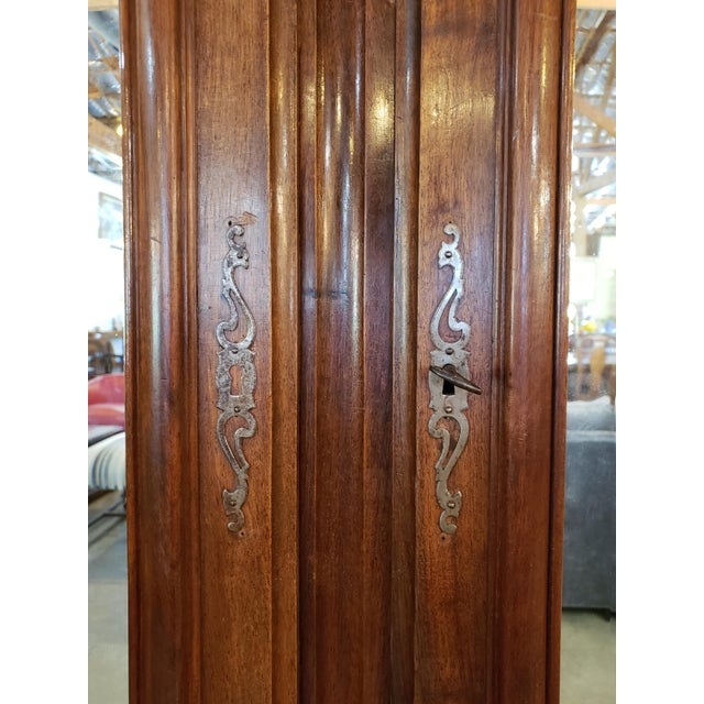 Louis XIII Period Walnut Armoire For Sale - Image 9 of 13