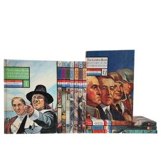 Golden Book's u.s. History Children's Book Set, S/12 For Sale