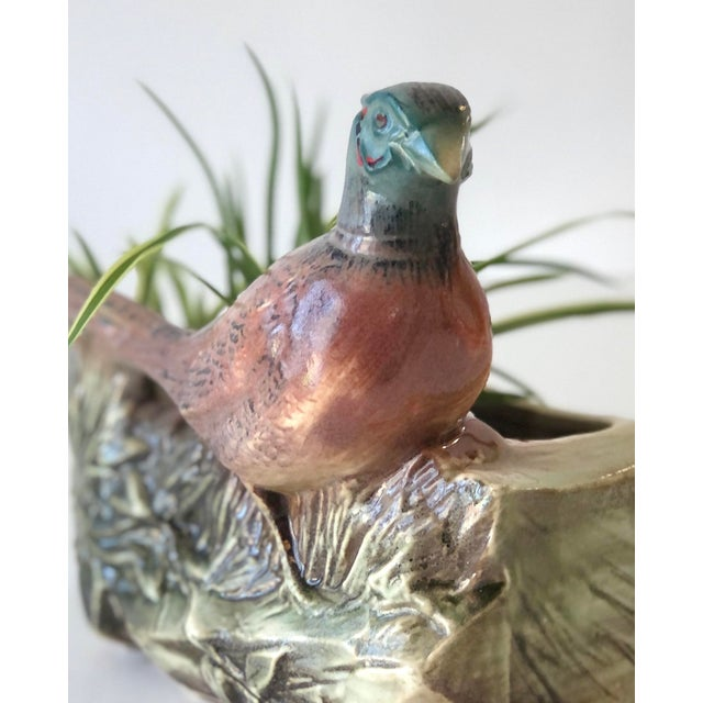 Vintage McCoy Pheasant Planter. Made in the 1950s it is in excellent condition. A versatile piece that will work in most...